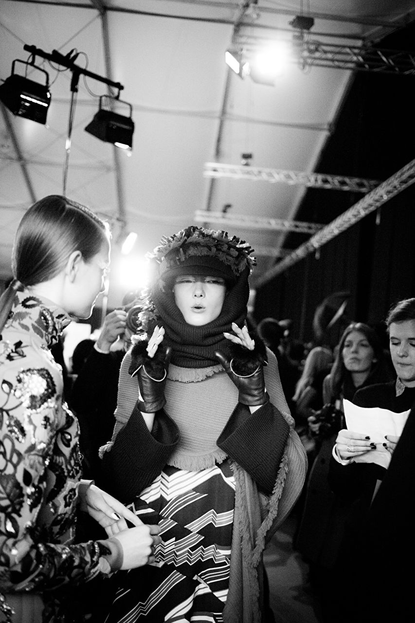 All Access at the KENZO show as part of the Paris Fashion Week Womenswear Fall/Winter 2015/16 on March 8, 2015 in Paris, France.