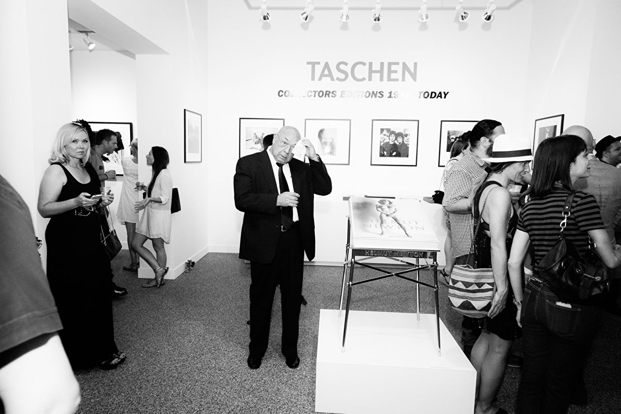 TASCHEN Gallery opening reception for 'Mick Rock: Shooting For Stardust - The Rise Of David Bowie & Co.' at TASCHEN Gallery on September 9, 2015 in Los Angeles, California.
