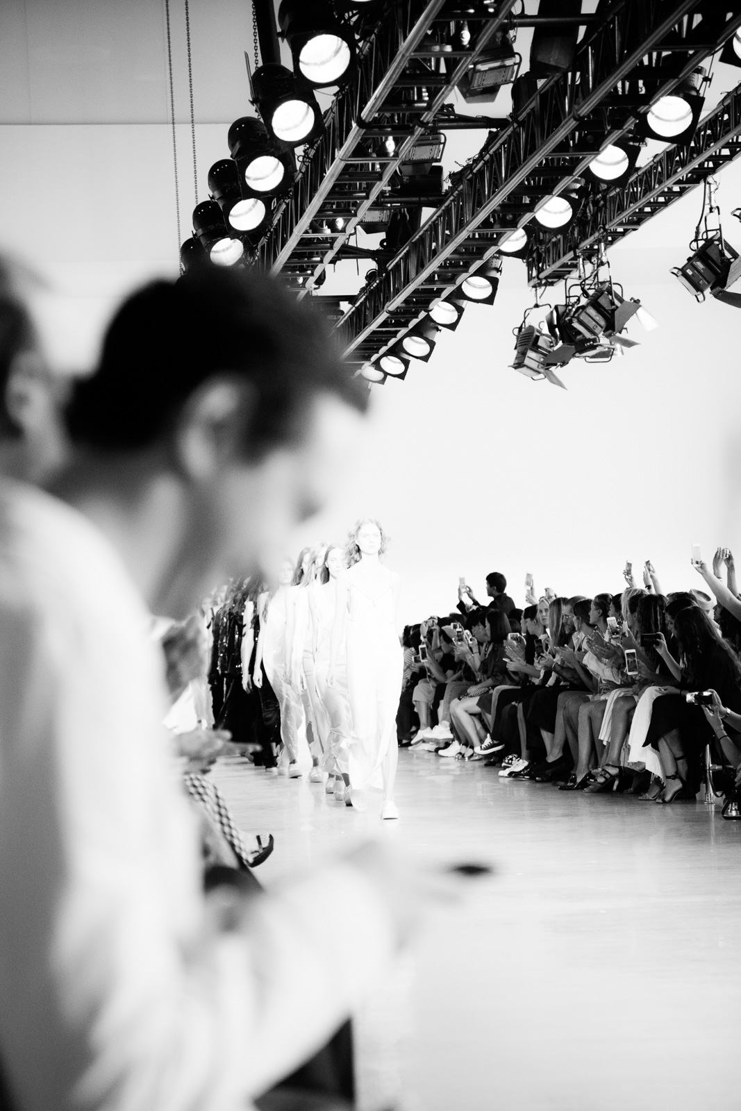Calvin Klein Spring 2016 Runway Show All Access during New York Fashion Week at Spring Studios on September 17, 2015 in New York City, USA.