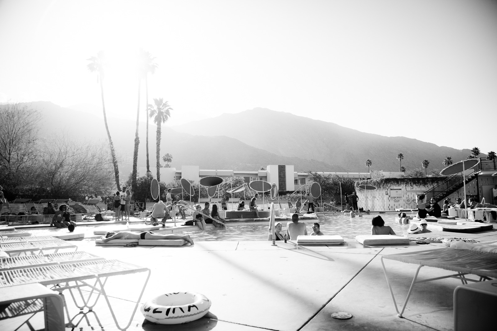 The Do-Over Desert Sunday on April 12, 2015 at The Commune at Ace Hotel & Swim Club in Palm Springs, California