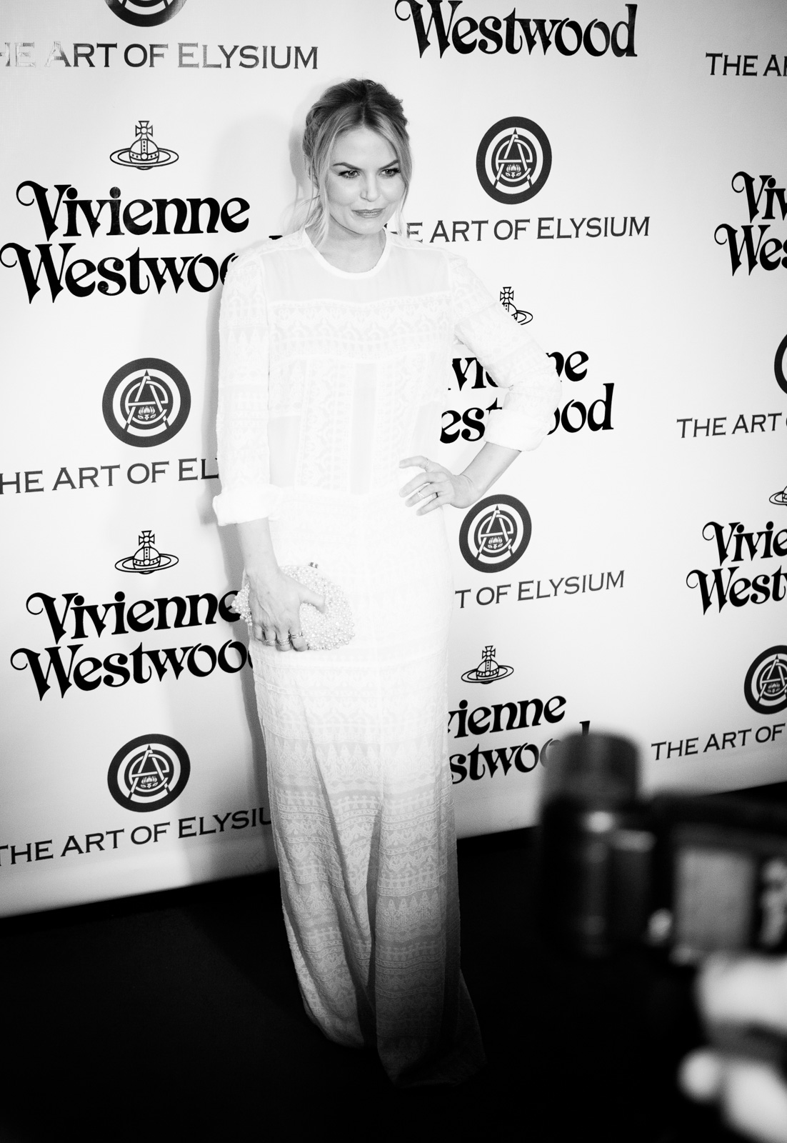 Jennifer Morrison attends The Art of Elysium 2016 HEAVEN Gala presented by Vivienne Westwood & Andreas Kronthaler at 3LABS on January 9, 2016 in Culver City, California.