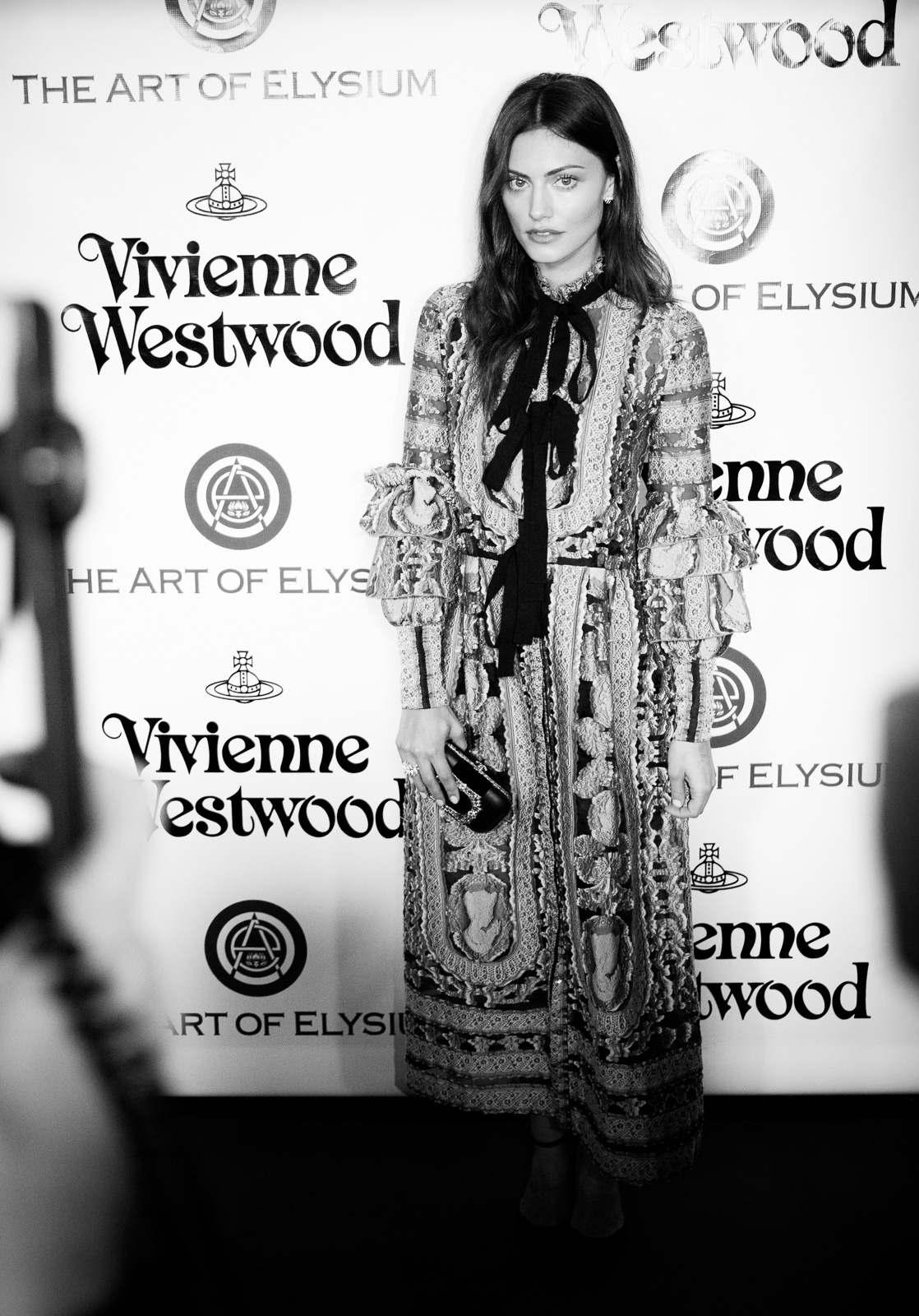 Actress and model Phoebe Tonkin attends The Art of Elysium 2016 HEAVEN Gala presented by Vivienne Westwood & Andreas Kronthaler at 3LABS on January 9, 2016 in Culver City, California.
