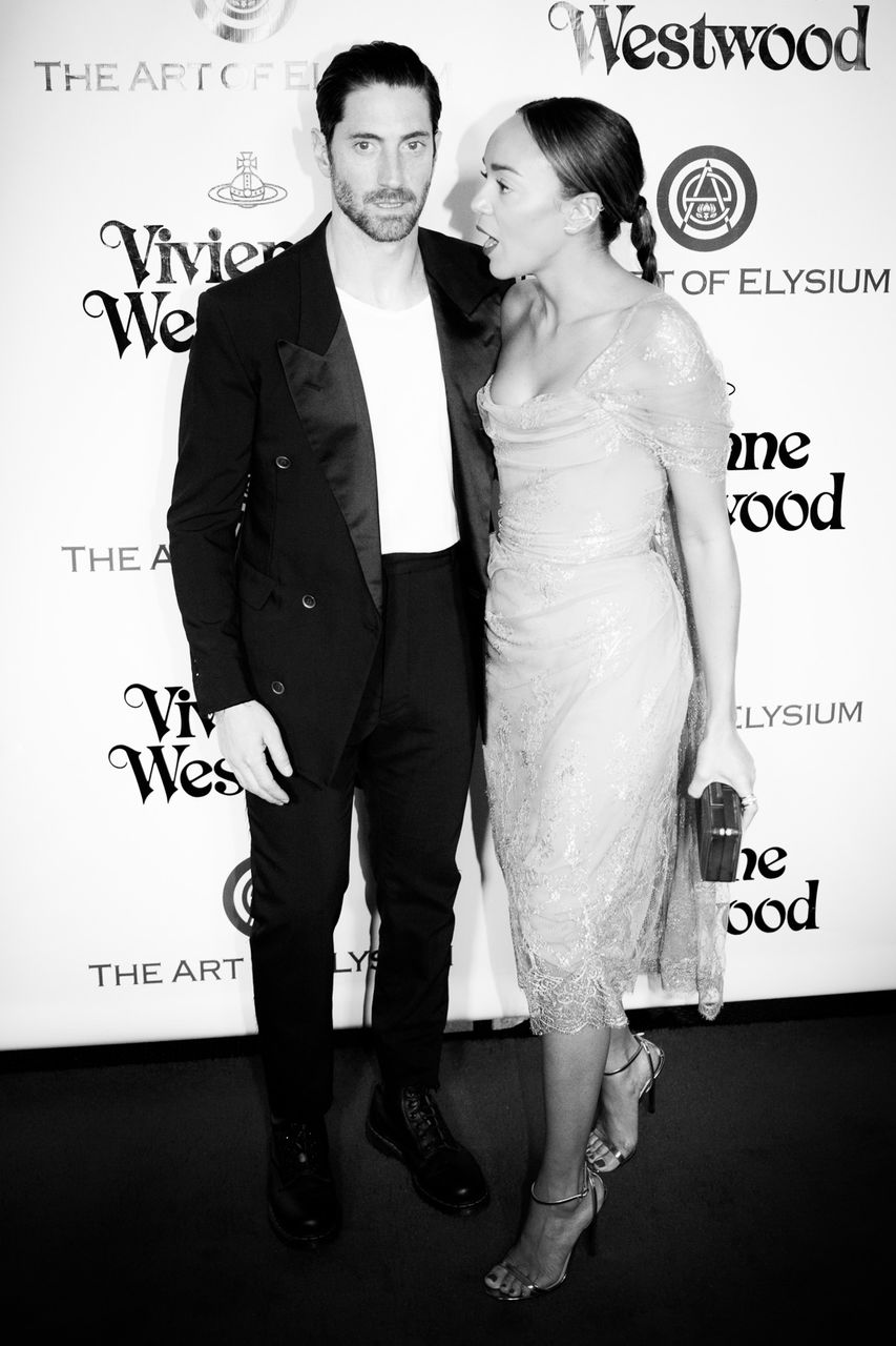 Actors Iddo Goldberg and Ashley Madekwe attend The Art of Elysium 2016 HEAVEN Gala presented by Vivienne Westwood & Andreas Kronthaler at 3LABS on January 9, 2016 in Culver City, California.