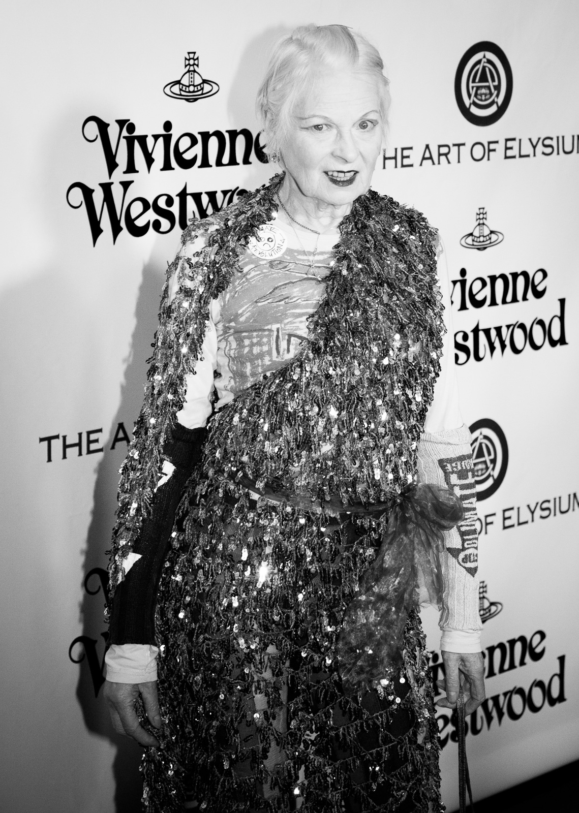 Designer Vivienne Westwood attends The Art of Elysium 2016 HEAVEN Gala presented by Vivienne Westwood & Andreas Kronthaler at 3LABS on January 9, 2016 in Culver City, California.
