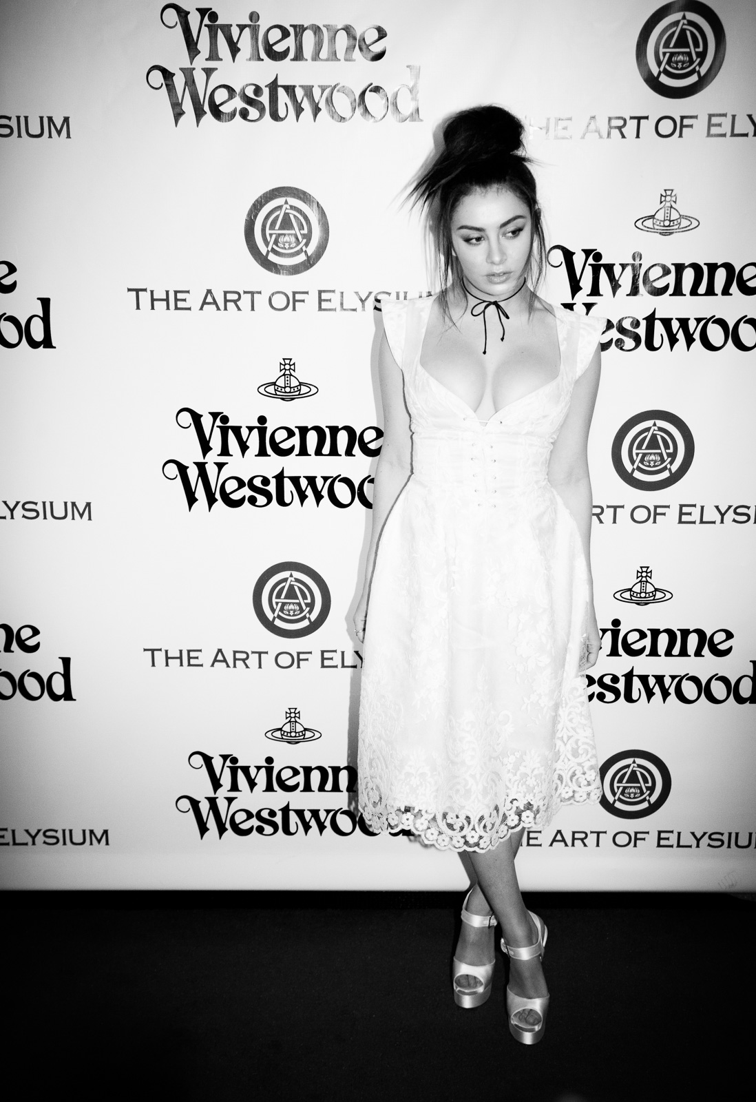 Charli XCX attends The Art of Elysium 2016 HEAVEN Gala presented by Vivienne Westwood & Andreas Kronthaler at 3LABS on January 9, 2016 in Culver City, California.