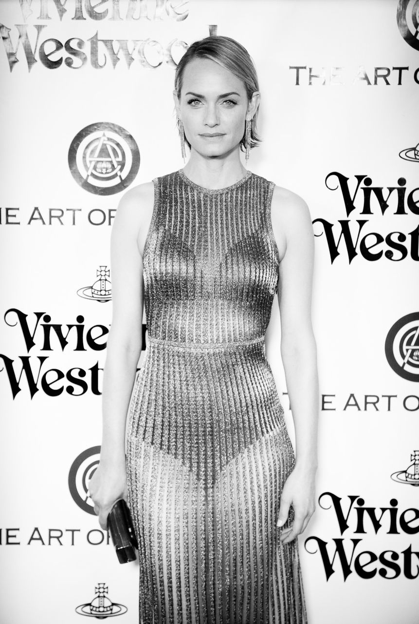 Actress Amber Valletta attends The Art of Elysium 2016 HEAVEN Gala presented by Vivienne Westwood & Andreas Kronthaler at 3LABS on January 9, 2016 in Culver City, California.