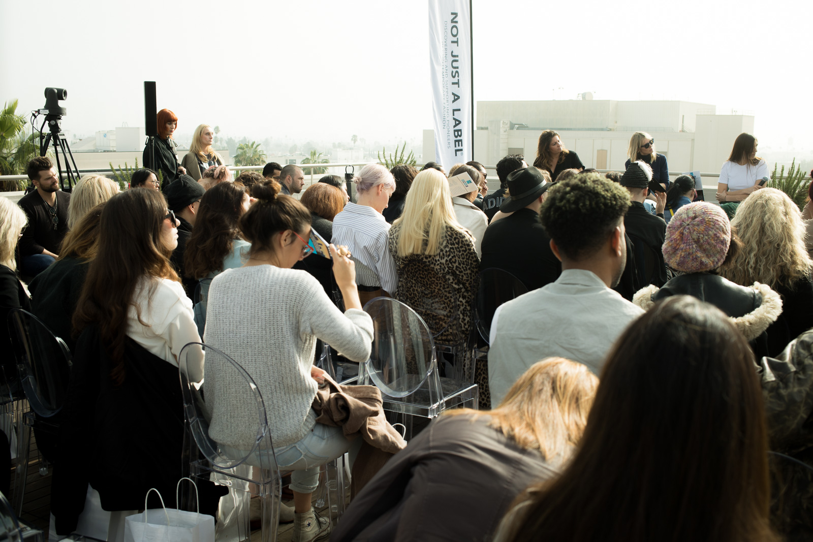 Launch of NOT JUST A LABEL's Authentic Radicalism at NeueHouse Hollywood on December 13, 2016 in Los Angeles, California.
