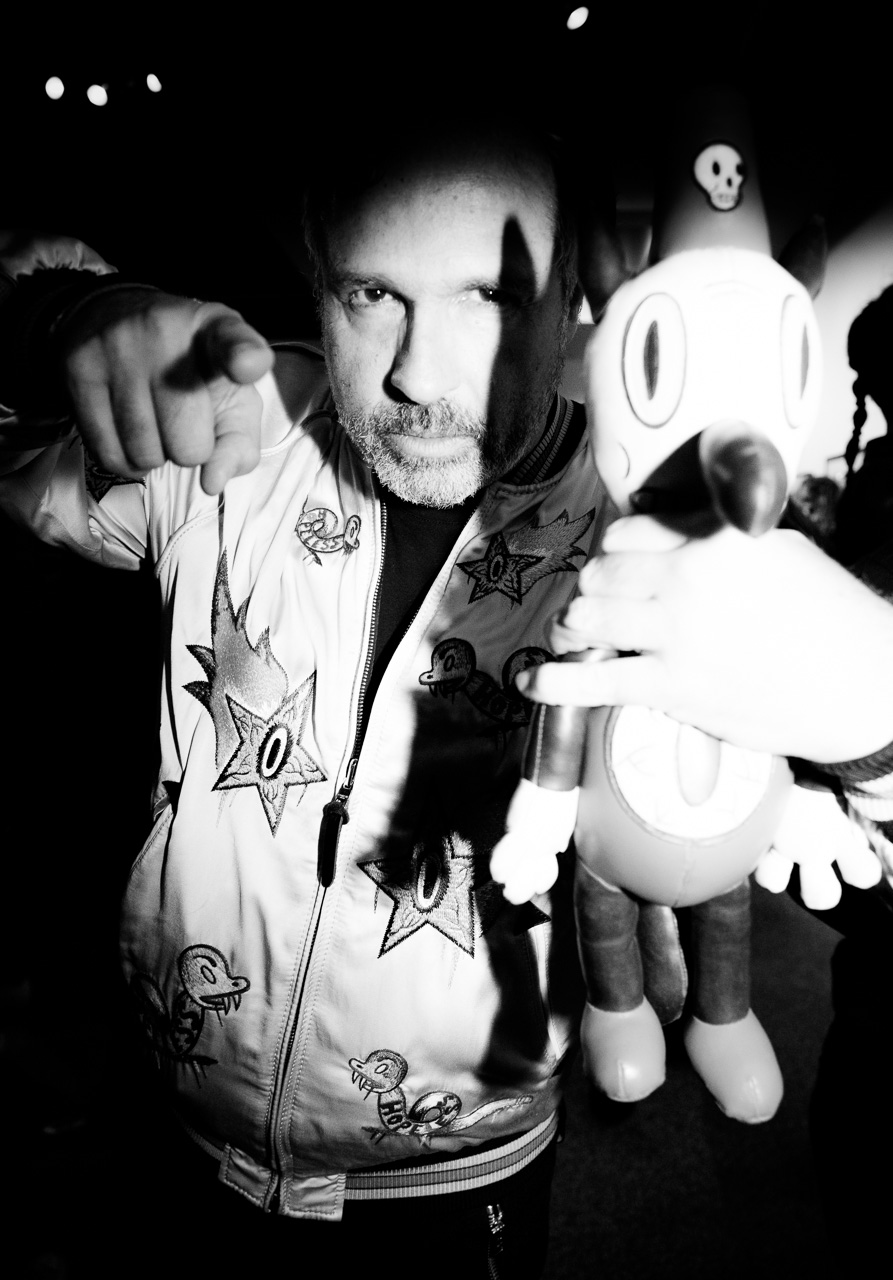 Gary Baseman attends the opening night of Ellen von Unwerth's photography exhibition at TASCHEN Gallery on February 24, 2017 in Los Angeles, California.