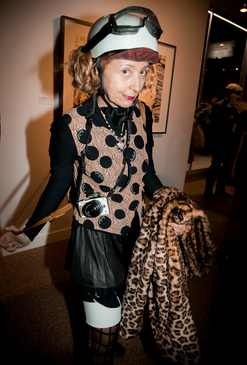 Artist at the opening night of Ellen von Unwerth's photography exhibition at TASCHEN Gallery on February 24, 2017 in Los Angeles, California.