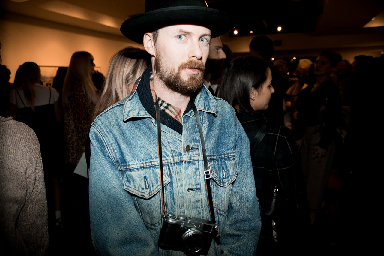 Autre Magazine Editor-in-chief Oliver Maxwell Kupper at the opening night of Ellen von Unwerth's photography exhibition at TASCHEN Gallery on February 24, 2017 in Los Angeles, California.
