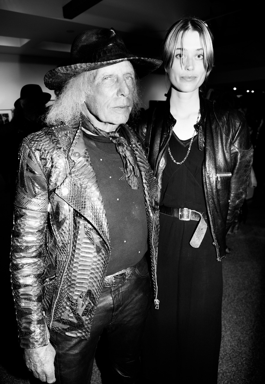 James Goldstein at the opening night of Ellen von Unwerth's photography exhibition at TASCHEN Gallery on February 24, 2017 in Los Angeles, California.