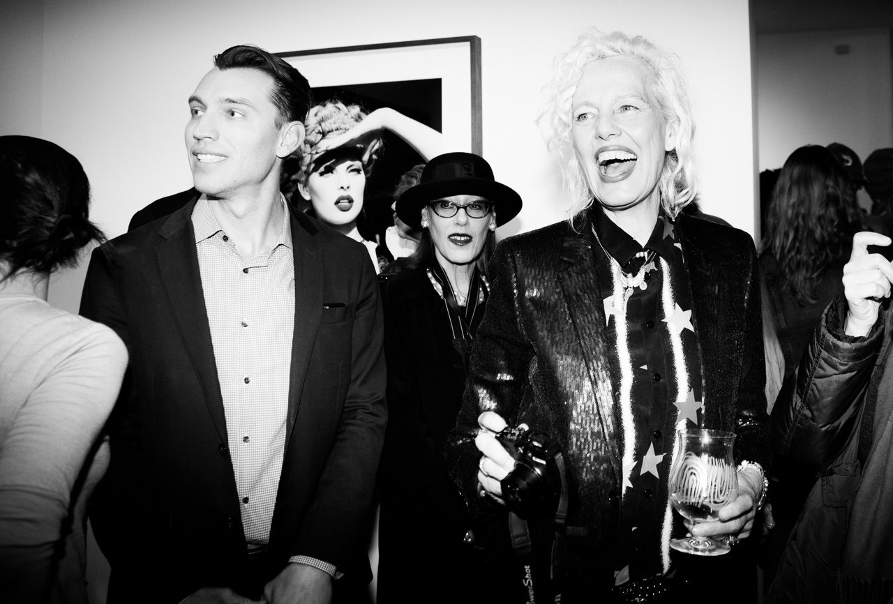 Photographer Ellen von Unwerth at the opening night of Ellen von Unwerth's photography exhibition at TASCHEN Gallery on February 24, 2017 in Los Angeles, California.