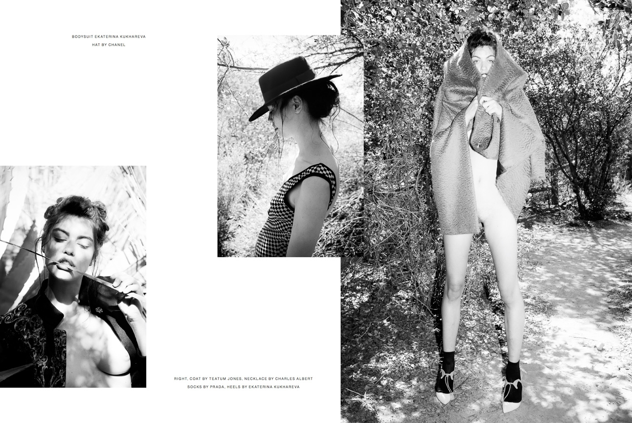 Editorial for P Magazine: Ashton Flutey by Ger Ger