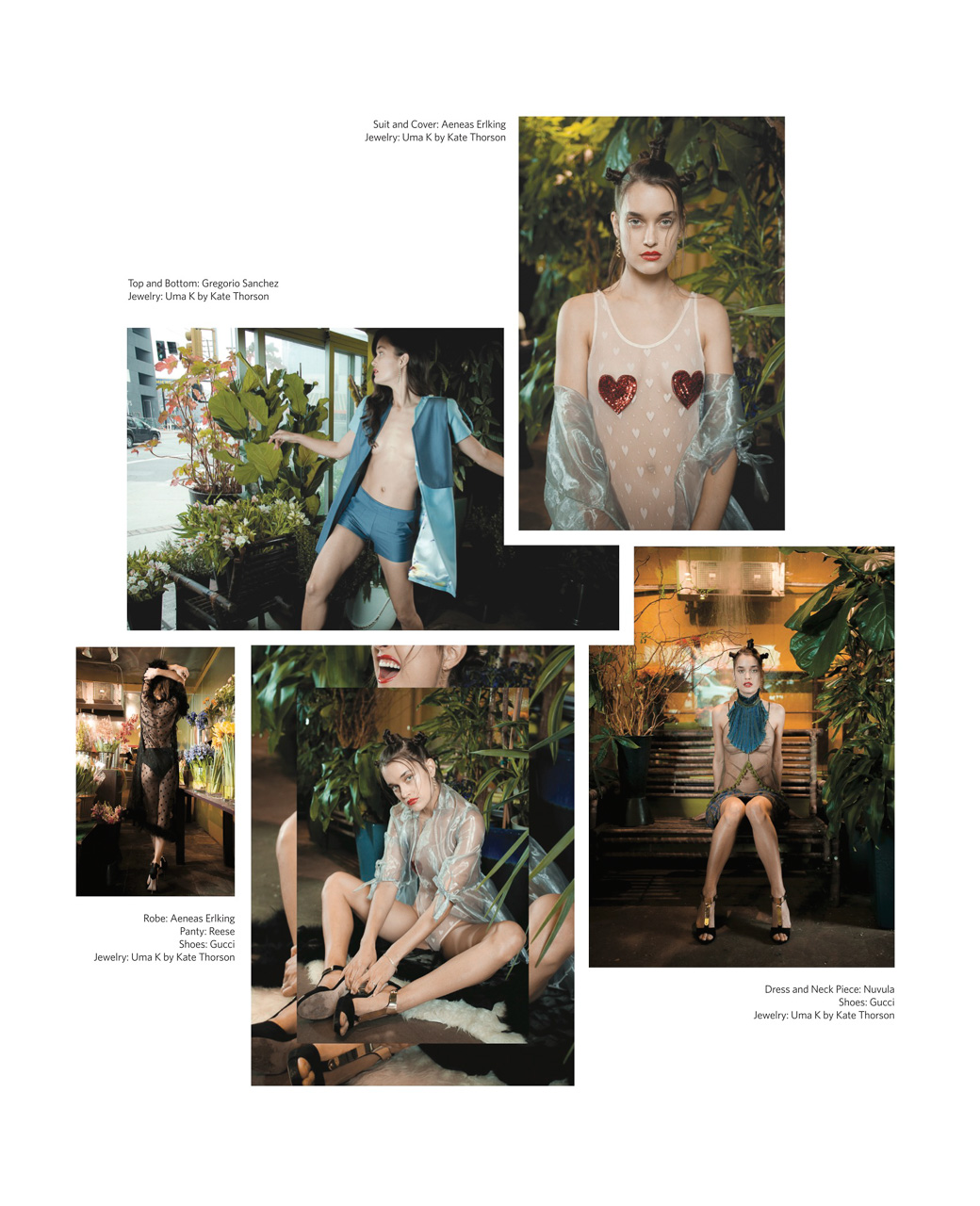 Editorial for Autre Magazine's Love Issue