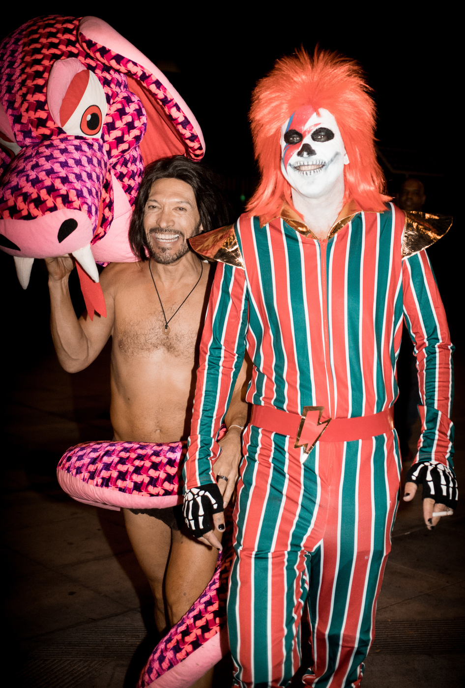 West Hollywood Halloween Carnaval on October 31, 2017 in Los Angeles, California.