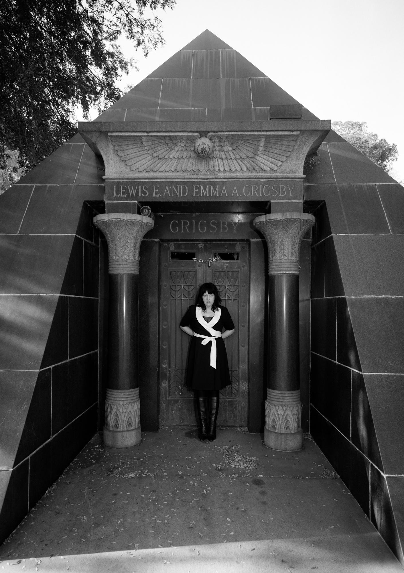 Lydia Lunch photographed in Los Angeles by Ger Ger