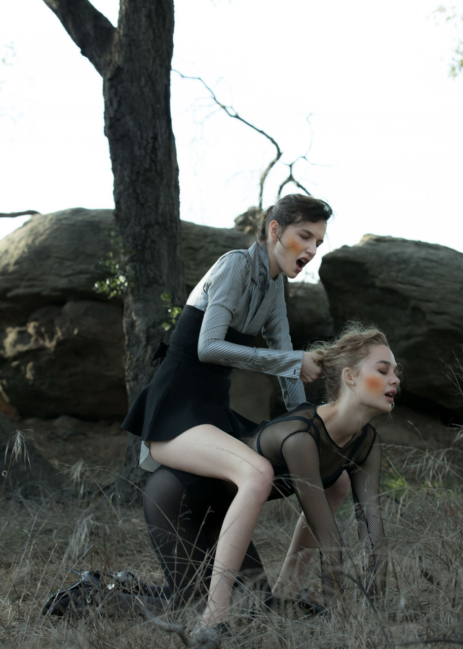 A fashion story photographed by Ger Ger for The Unseasonal.