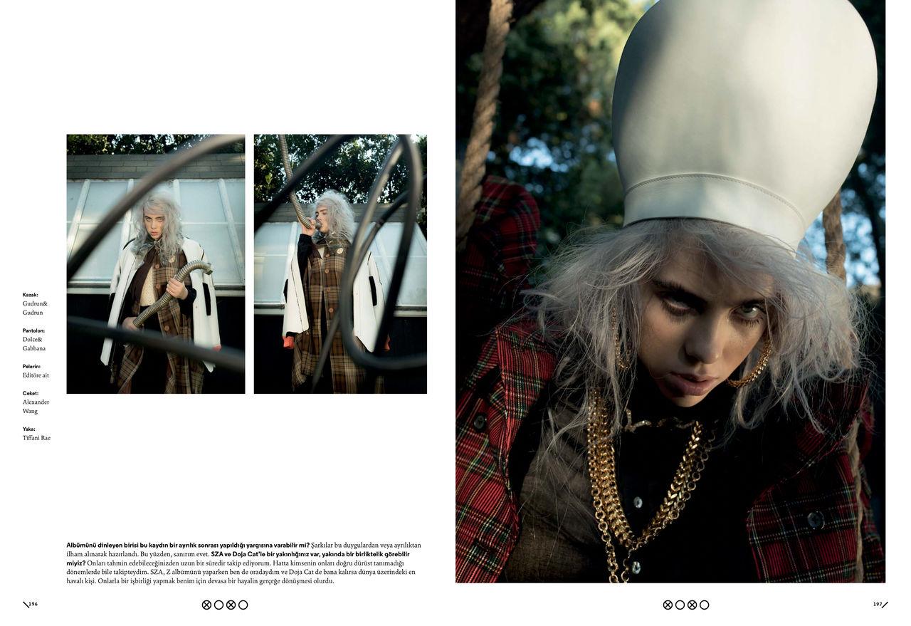 Billie Eilish for XOXO Magazine's October Print Issue